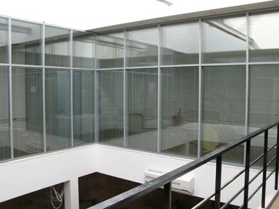 Офис из стекла