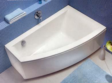 Акриловые ванны - красота, надежность, комфорт