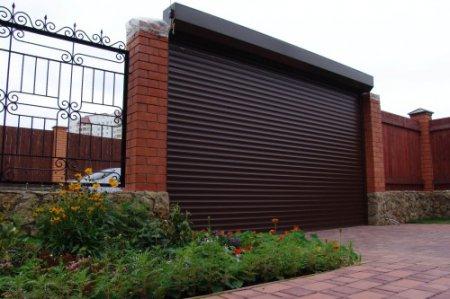 Рулонные ворота - удобство и надежность
