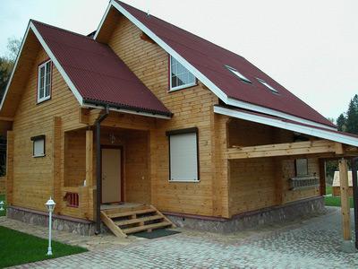 Строительство домов из бруса под ключ: готовые проекты или авторские?