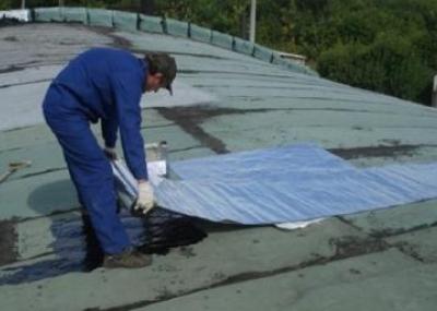 Гидроизоляция крыши рубероидом