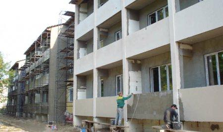 Отделочные работы по фасаду