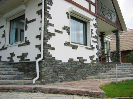 Типы внешней отделки дома