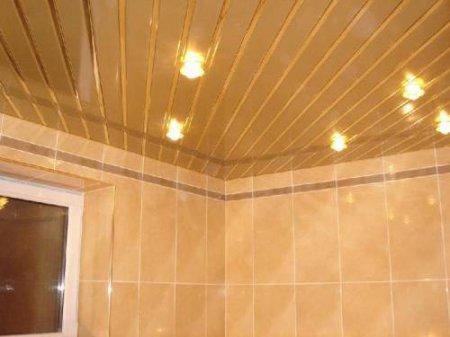 Реечные потолки и основы их монтажа