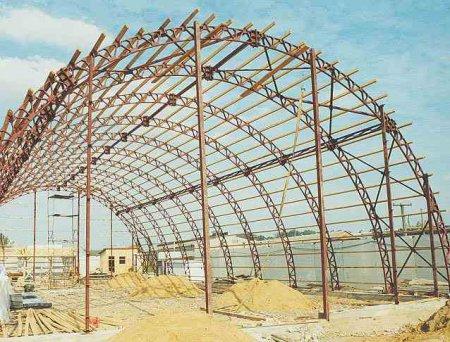 Строительство с использованием металлоконструкций