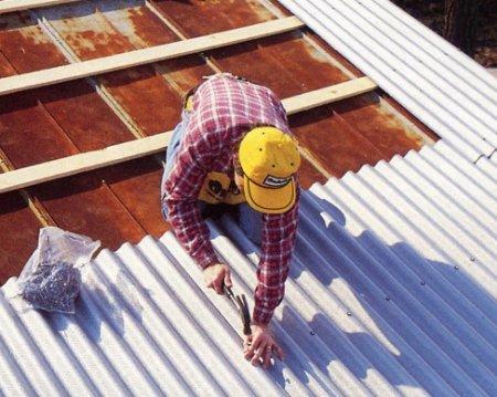 Как покрыть крышу шифером