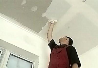 Самостоятельное выравнивание потолка