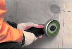 Замена электропроводки в доме. Штробление стен