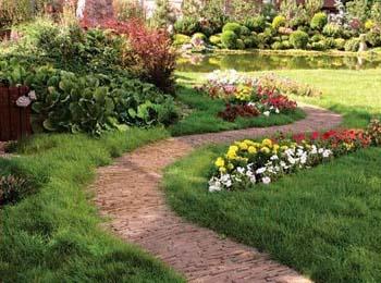 Из чего сделать садовую дорожку