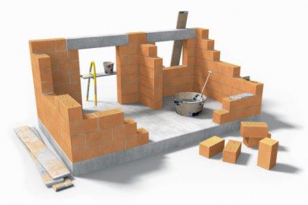 Виды материала для строительства стен здания