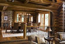 Мебель в интерьере стиля кантри