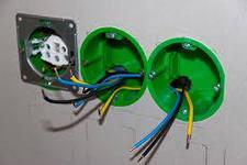 Установка выключателей и розеток в гипсокартон