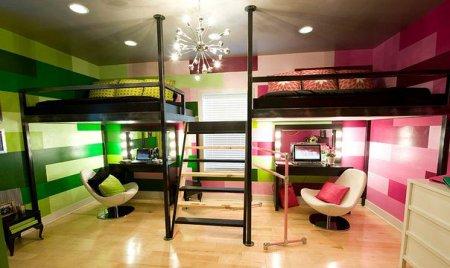 Одна комната для двух детей