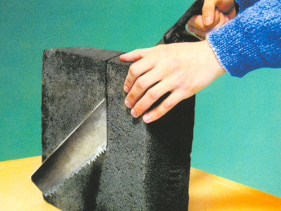 Вспененное стекло для теплоизоляции стен