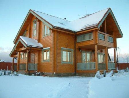 Дом из сруба – залог комфорта, уюта и здоровья