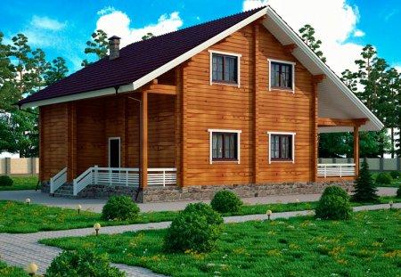 Чем удобны деревянные дома