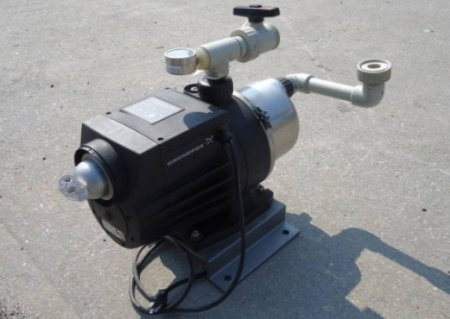 Поршневой насос для воды: устройство и использование