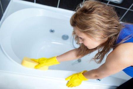 Как мыть ванну?