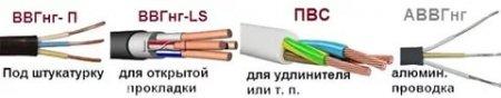 Выбор кабеля для проводки