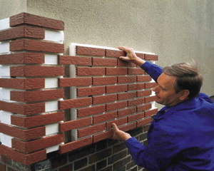 Технология отделки поверхностей клинкерной плиткой