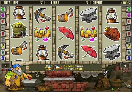 Игровой автомат Gnome в казино Vulkan Platinum